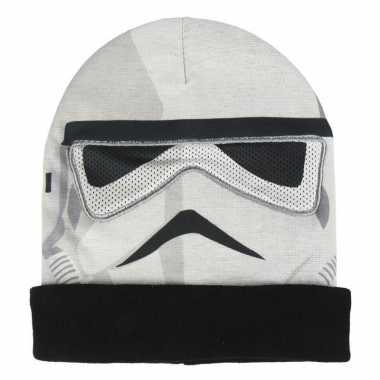 Stormtrooper masker en muts voor jongens
